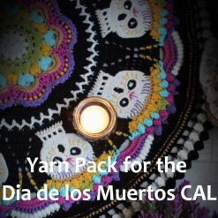 Yarn Pack for the Dia de los Muertos CAL by The Guy With The Hook