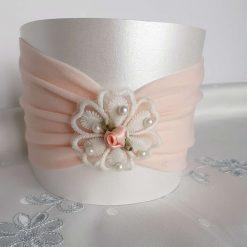 Nylon Stretch Baby/Girls Blush Turban Headband