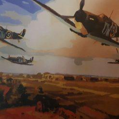 Spitfires over Kent