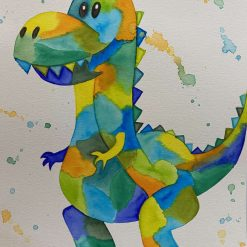 Dinosaur Original Painting