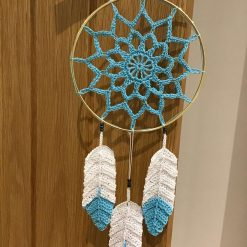 Small dreamcatcher, turquoise