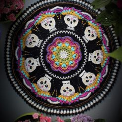 Yarn Pack for the Dia de los Muertos CAL by The Guy With The Hook 10