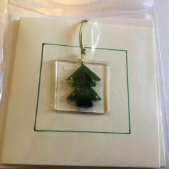 Clear Star Christmas Card 3
