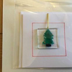 Clear Star Christmas Card 20