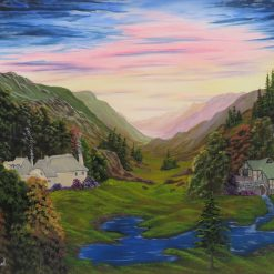 Mill Valley Acrylic Painting
