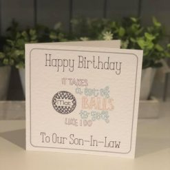 Personalised Birthday Card - Wine - Milestone Birthday - Free Postage