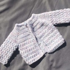 Pearl Baby Cardigan 0-3 Months