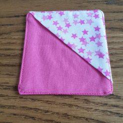 Pink Corner Bookmark