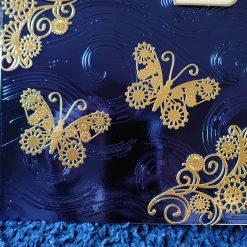 Get well soon butterflies handmade card