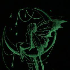 Handmade glow in the dark fairy reading cushion 9