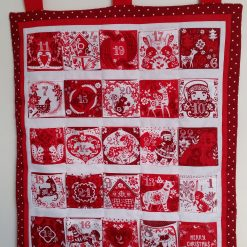 """Re-usable Quilted """"Festive Magic"""" Advent Calendar"""