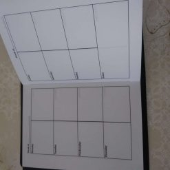 A6 Size laminated notebook 8