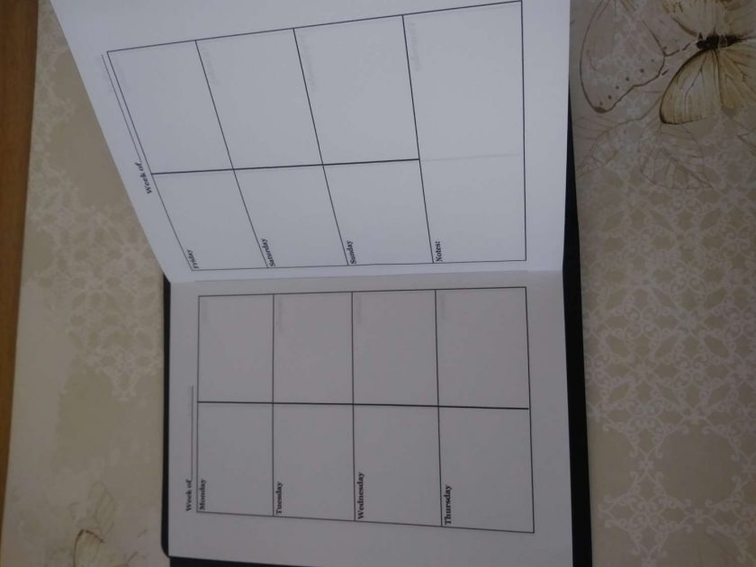 A6 Size laminated notebook 4