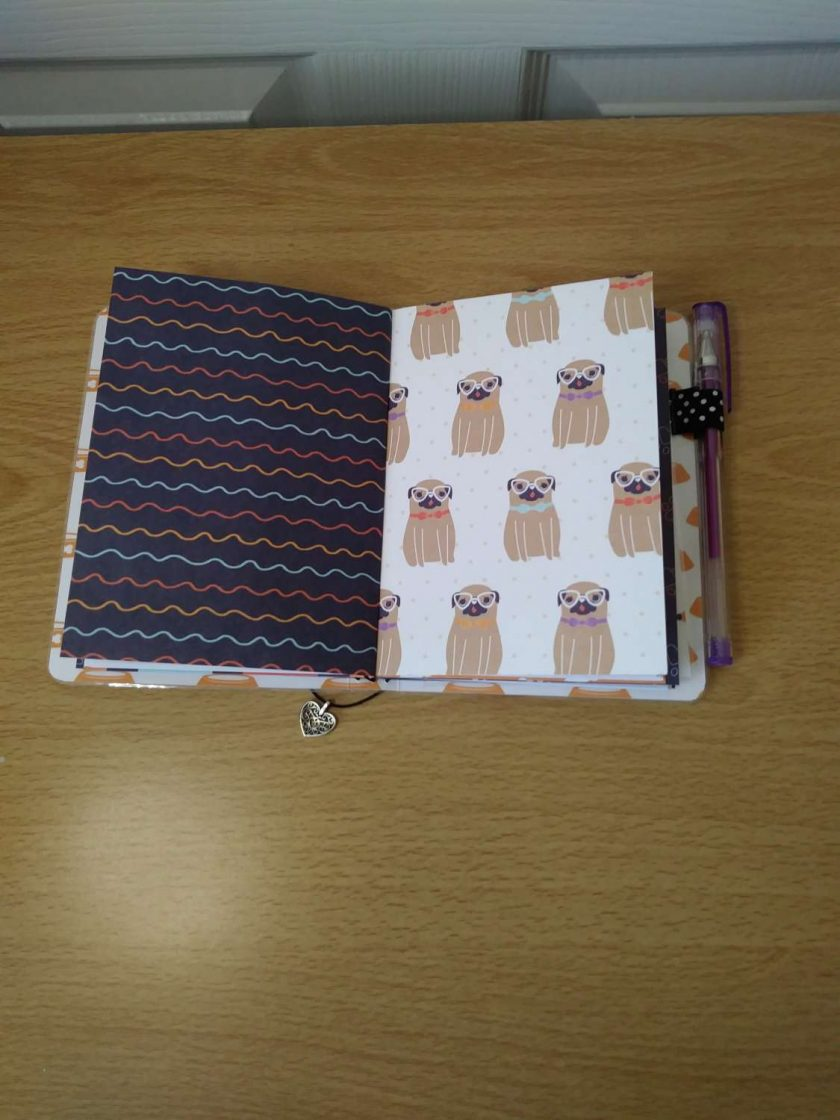 A6 Size laminated notebook 5