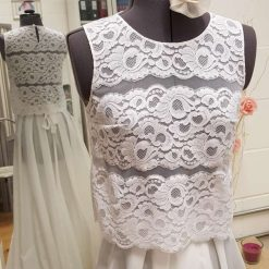 Lace top/Wedding separate