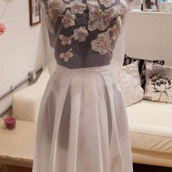 Embellished Tulle Wedding top