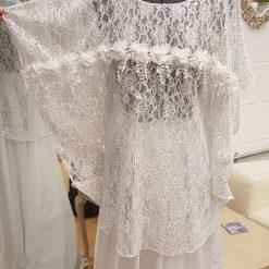Embellished Lace Wedding top