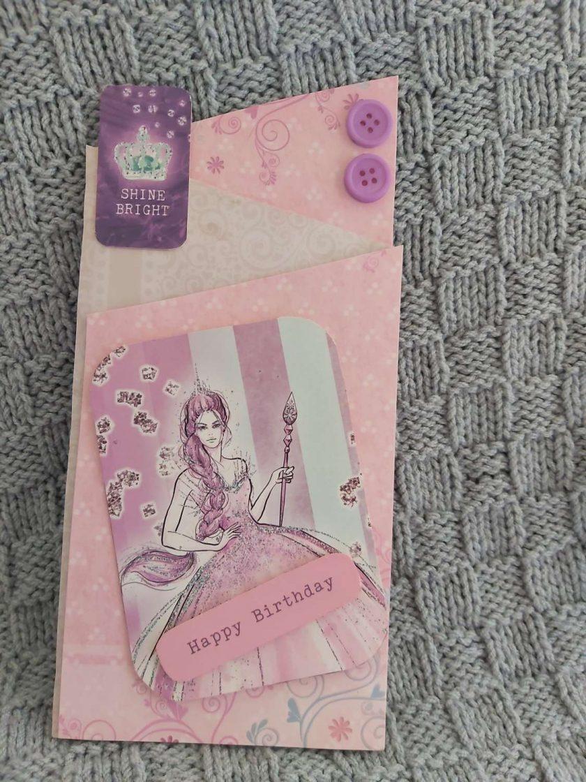 Princess Birthday Card 1
