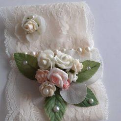 Wedding Flowers Childs Hands Free Bouquet