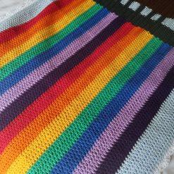 Glastonbury Ribbon Tower Baby Blanket - Written Crochet Pattern