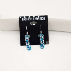 Chainmaille/Chainmail Byzantine Earings with Mobius