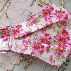 Floral patterned face mask/covering