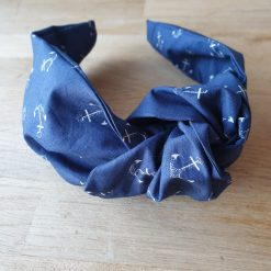 Knotted Hairband - Anchor - Nautical