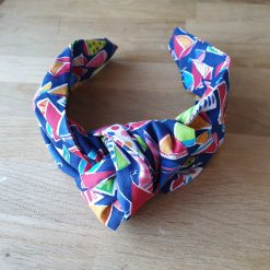 Knotted Hairband - Boats - Nautical