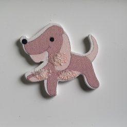 Cute Wooden Dog Needle Minder