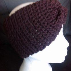 Crocheted ladies headband /ear muff FREE POSTAGE