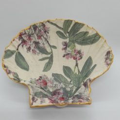 Jewellery storage - Decoupage scallop shell dishes 6