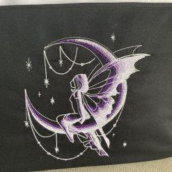 Handmade glow in the dark fairy reading cushion 8