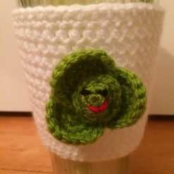 CLEARANCE Brussel Sprout Cup Cozy Sleeve Reusable Coffee Tea
