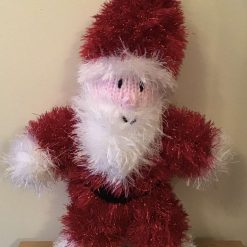 Knitted Tinsel Snowman