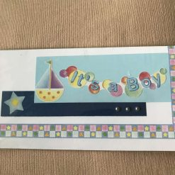 Handcrafted Card - It's a boy