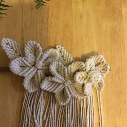 Christmas Decoration Star Macrame Boho Style (pack of 2) Free P&P