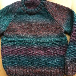 Toddler Jumper in Greens/Reds/Oranges 1-2 years