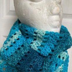 Crochet Infinity Scarf - Mermaid