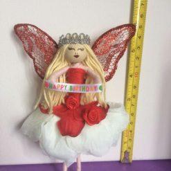 fairy doll or a Christmas fairy