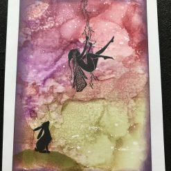 Fairy - Handmade fairy card