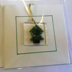 Clear Star Christmas Card 14