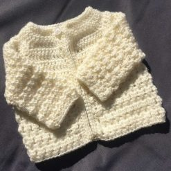 Newborn Crochet Cardigan