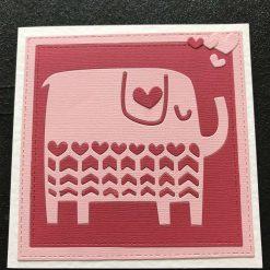 Handmade Poppy Birthday card
