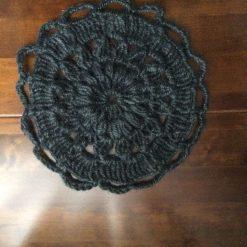 Crochet coaster from Jute Twine