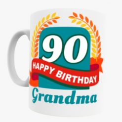 90th Birthday Grandma mug
