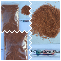 Black decorative coloured sand 500g