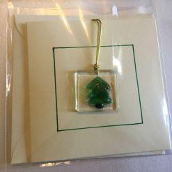 Clear Star Christmas Card 13