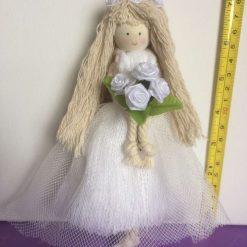 Macrame cotton  Bridal doll