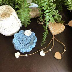 Boho Crocheted Mug Coasters Free P&P