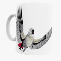 Bird Print Mug